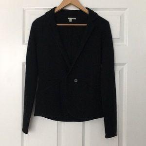 Halogen Sweater Blazer Black Size Small